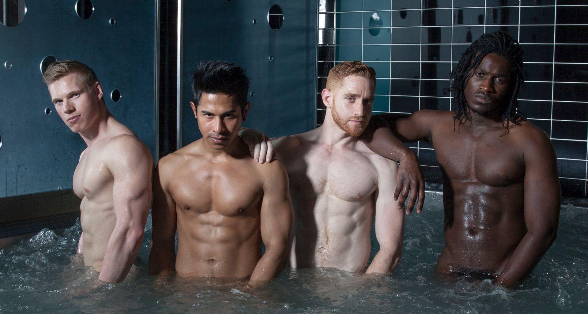 Gay sauna pics